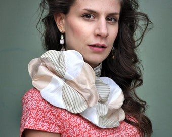 Colourful Patchwork  Scarf / Woman Scarf / Extravagant Scarf - free shipping