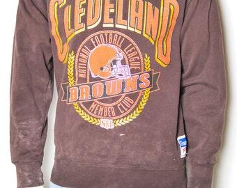 Cleveland Browns Large Seal Logo Sweatshirt/Pullover