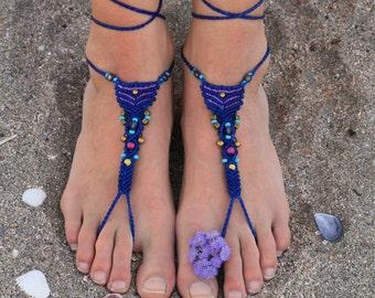 Super cool beachy barefoot sandals