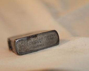 Vintage Unique Champ Lighter Made in Austria