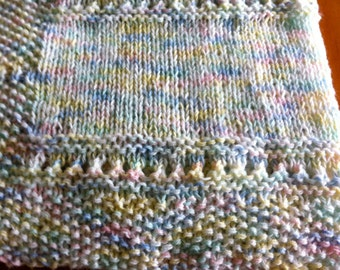 Baby Blanket Hand Knit