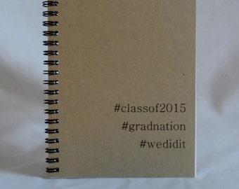 Graduation Hashtag Journal, GradNation, Graduation Gift