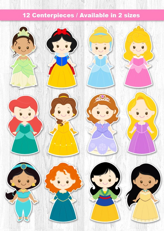 Princess Centerpiece Disney Princess Centerpiece Disney