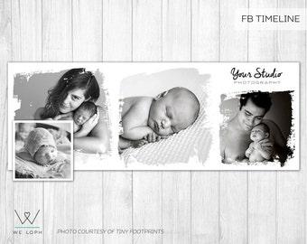 Facebook Timeline Cover - Facebook Timeline Template for Photographers  INSTANT DOWNLOAD SKU:FT012