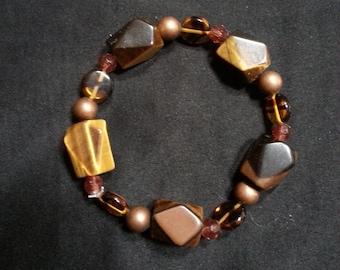 Tigers eye stone bracelet