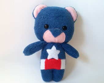 Captain America Teddyvenger - made to order