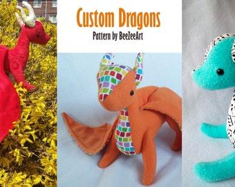 Custom Dragon Plush