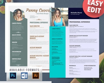 High Quality Free Word Templates Modern Resume Download. Download 35 Free Creative Resume  ...