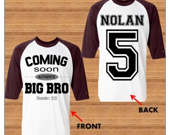 Big Brother Shirt - Big Brother announcement Shirt
