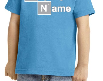 Toddler's Funny Shirt Say My Name Tee T-Shirt NAME-CAR54T