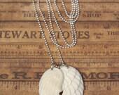 Bone Wings Necklace