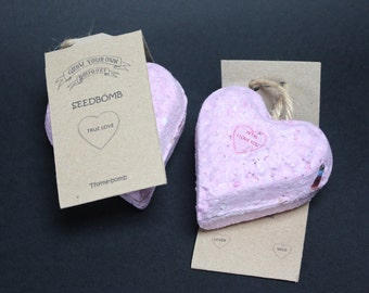 Grow Your Own Bouquet Sweetheart Seed Bomb - Thyme Bomb