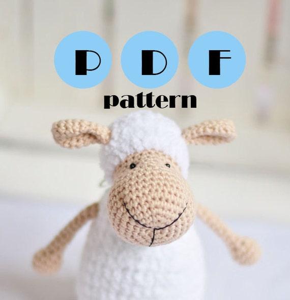 Free Sheep Amigurumi Crochet Pattern : ?rochet sheep pattern amigurumi pattern lamb pattern