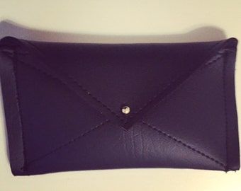 Black Envelope Card Case