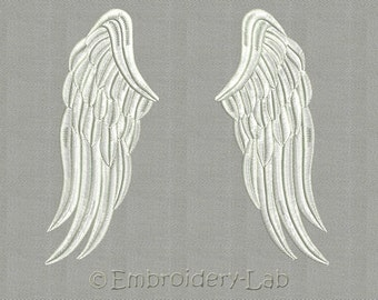 Wings 0002 - machine embroidery design