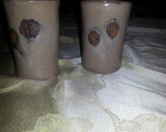 Ginko leaf mugs