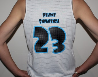 Custom Roller Derby Revesible Scrimmage Tank with Name & Number