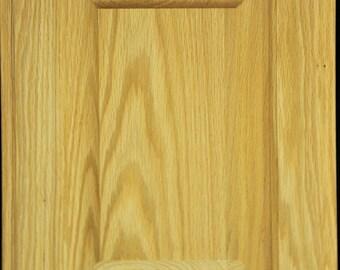 columbia style door in oak unfinished cabinet doors