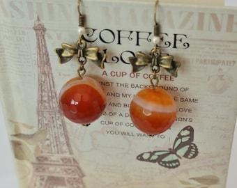 Earrings Amber Fantasy