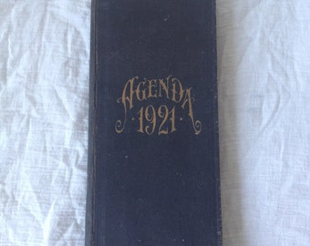 Authentic 1921 desk diary NEVER USED