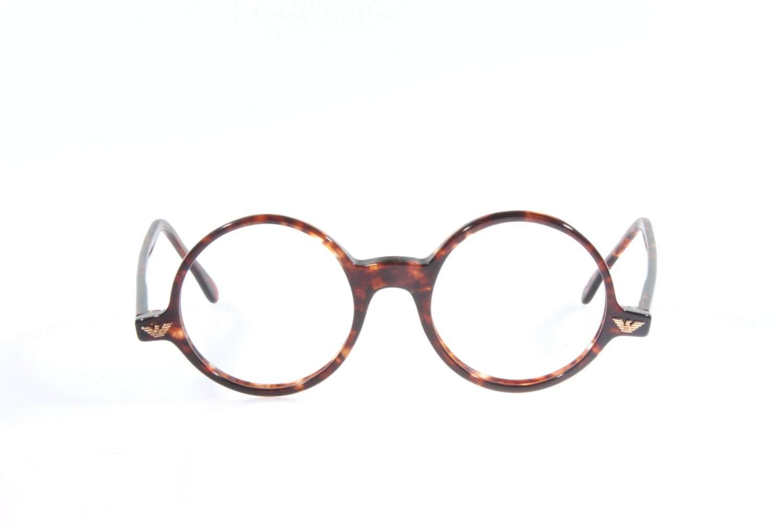 Vintage Armani Glasses Frames : Emporio Armani 501 vintage round eyeglasses frames