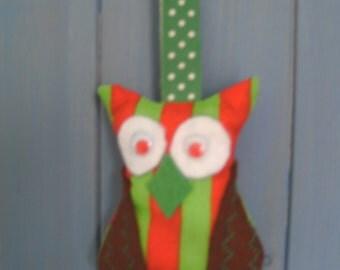 Owl Lavender hanger