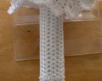 Bouquet handle-wrap/Manchon pour bouquet de mariée