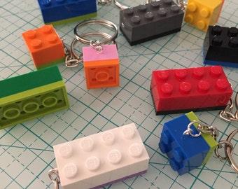 Lego Brick Keychain Favors