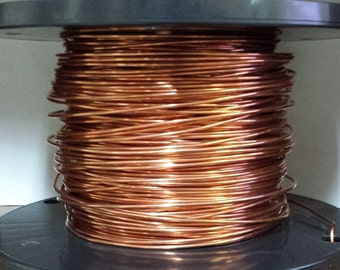 copper wire - 10 gauge copper wire - bare copper - 100 ft. spool