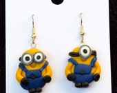 Minion Inspired Earrings