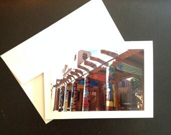 Photo Greeting Card New Mexico Series: Santa Fe