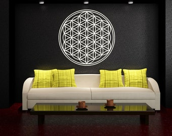 Flower of Life - Wall Decal - Wall Sticker - spiritual sticker Flower of Life!