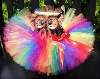Tutu, Rainbow Tutu, Baby Tutu, Infant Tutu, Newborn Tutu, 1st Birthday Tutu, Birthday Tutu, First Birthday Tutu, Cake Smash Tutu, Tutu Skirt
