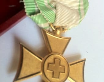 Vintage Red Cross Medal-vintage Red Cross Medal