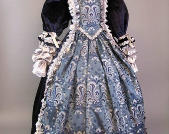 The baroque dress for girls 5-6 years (116) Code: 085/2014