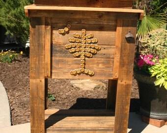 Reclaimed Wood Cooler