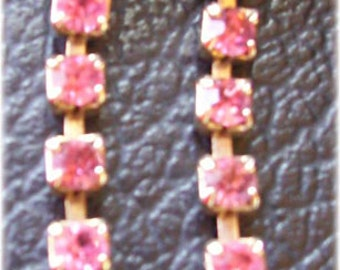 Pink Rhinestone Sweater Guard