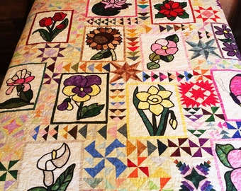 Magnificant Queen Bed  Quilt
