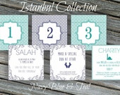Ramadan Calendar.  30 Days of Good Deeds - Countdown to Eid!  {Istanbul Collection}  Printable File.