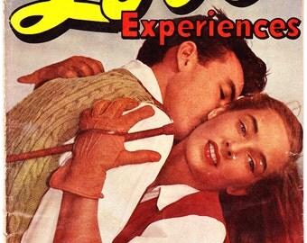 Love Experiences 18, Horse, Heartbreak, Romance comic book. Pre-Code, Vintage Golden Age. 1953 Ace Comics in VG (4.0)