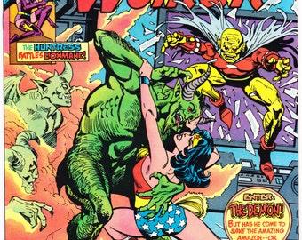 Wonder Woman #280 DC Comics the Huntress Demon Bronze Age Amazon Diana Prince 1981 NM (9.4)