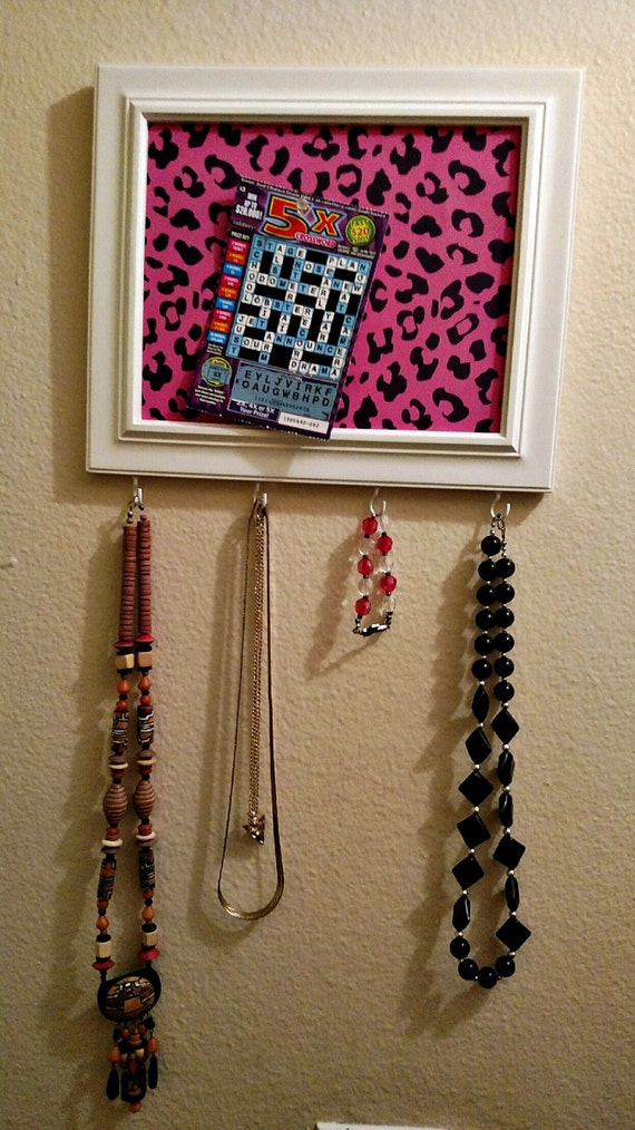 Items similar to bulletin board key holder jewelry for Bulletin board organizer