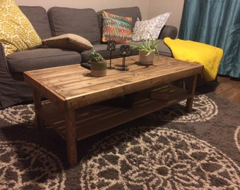 """Pallet Wood Coffee Table """"The Simpler"""""""