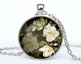 Flower necklace Flower pendant Flower jewelry