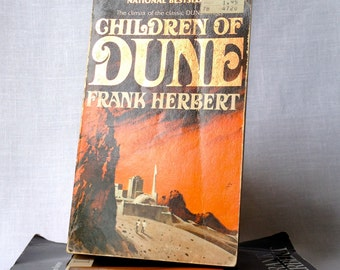 2 Dune books - Dune and Children of Dune by Frank Herbert