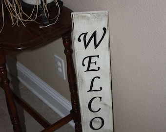 Rustic Welcome sign- Medium