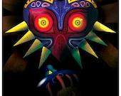 Legend of Zelda - Prelude to Majora's Mask Poster