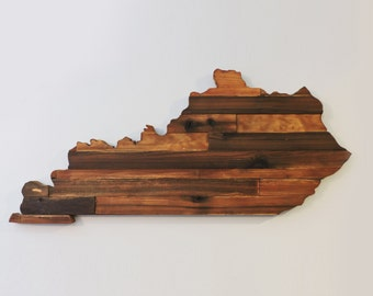 Kentucky Rustic Wood State Cut Out, Wooden Kentucky State Outline, Rustic Kentucky, Kentucky Sign, Kentucky Art, Kentucky Decor
