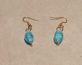 Cinderella Blue Earring