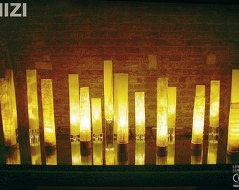 Paper lamp | Eco-friendly | Handmade | Tabletop lamp | Accent lamp | Desktop lamp | Nightlight for kids | Mood lighting | Mizi